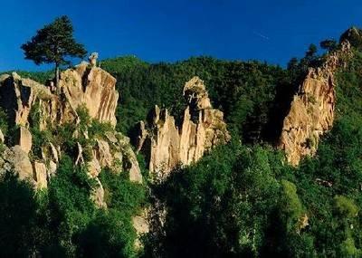 赤峰旅游:深山胜景葫芦峪